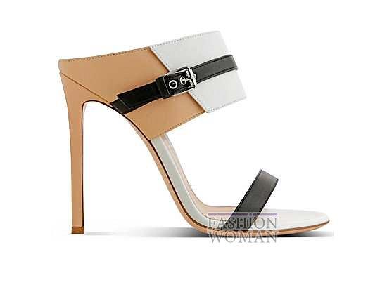 Коллекция обуви Gianvito Rossi весна-лето 2014 фото №28
