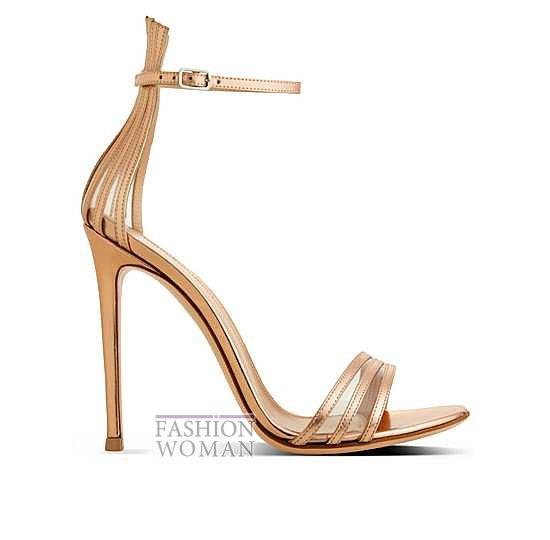 Коллекция обуви Gianvito Rossi весна-лето 2014 фото №6
