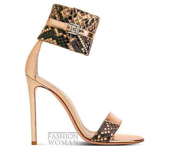 Коллекция обуви Gianvito Rossi весна-лето 2014 фото №9