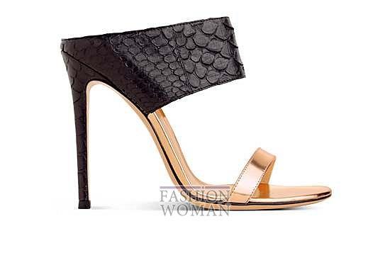 Коллекция обуви Gianvito Rossi весна-лето 2014 фото №10