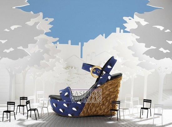 Коллекция обуви Louis Vuitton весна-лето 2012 фото №4