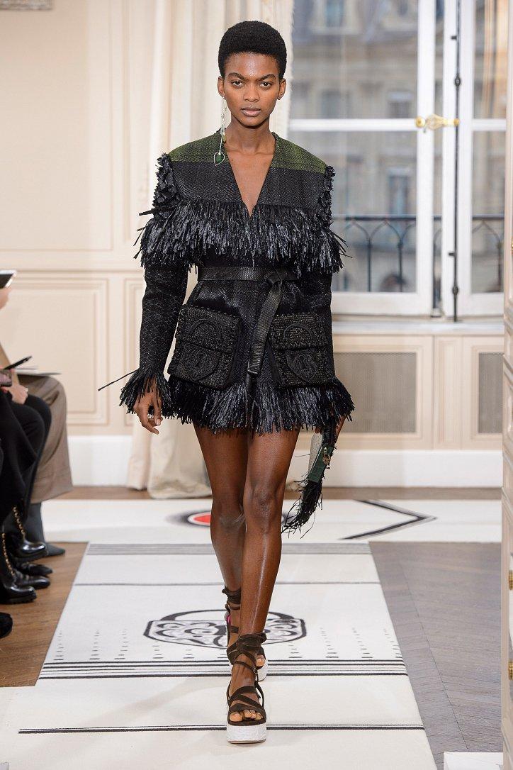Коллекция Schiaparelli Haute Couture весна-лето 2018 фото №10