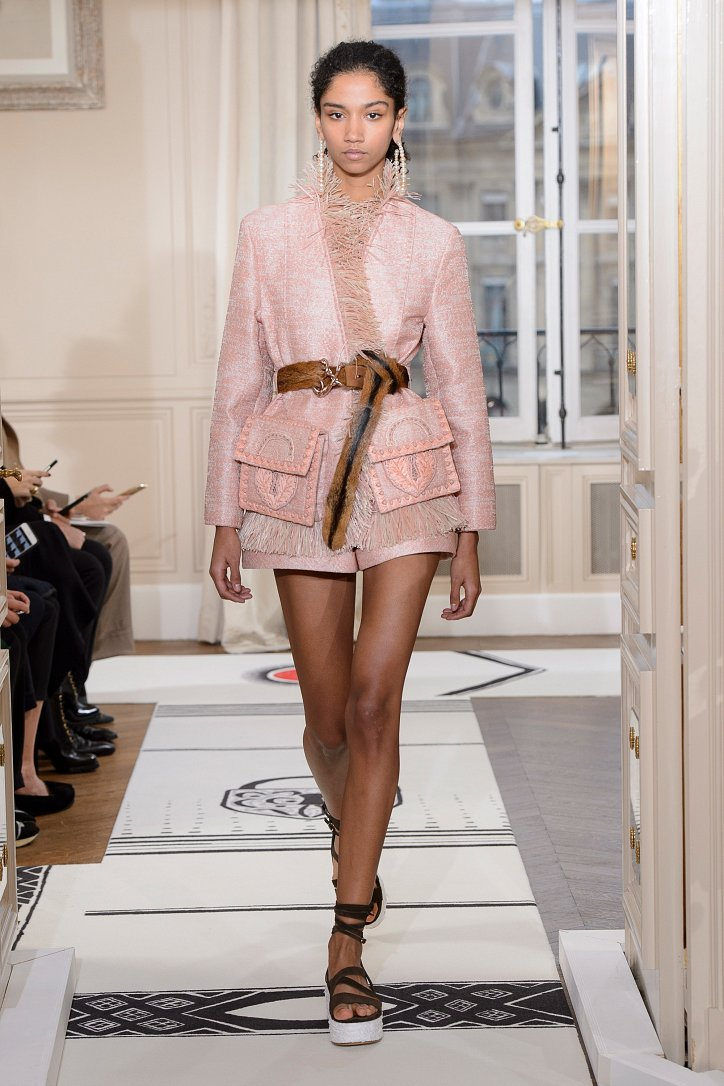 Коллекция Schiaparelli Haute Couture весна-лето 2018 фото №12