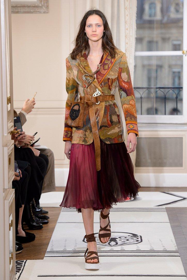 Коллекция Schiaparelli Haute Couture весна-лето 2018 фото №14