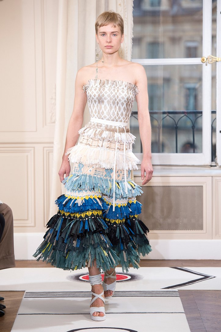 Коллекция Schiaparelli Haute Couture весна-лето 2018 фото №17