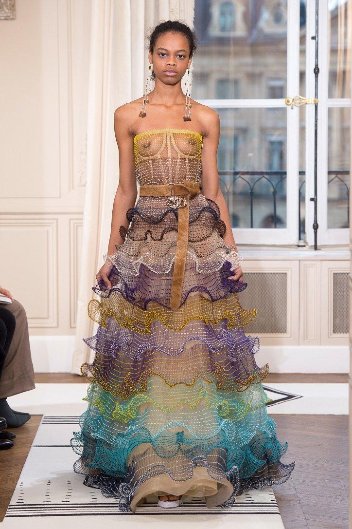 Коллекция Schiaparelli Haute Couture весна-лето 2018 фото №23