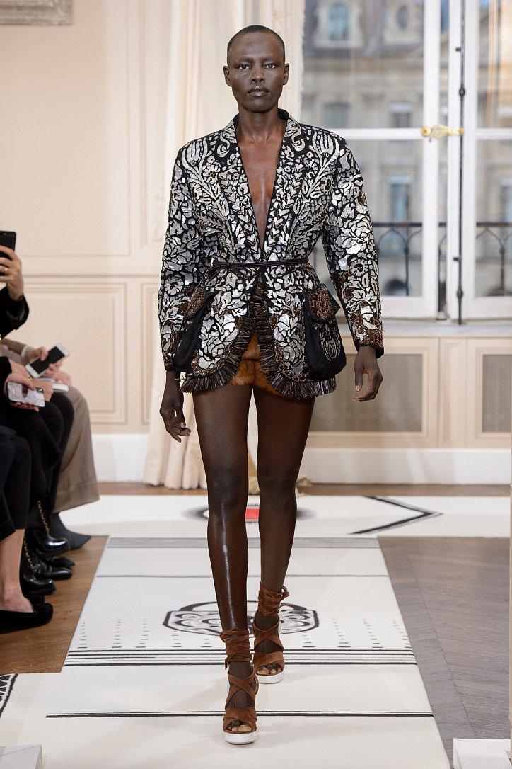 Коллекция Schiaparelli Haute Couture весна-лето 2018 фото №32