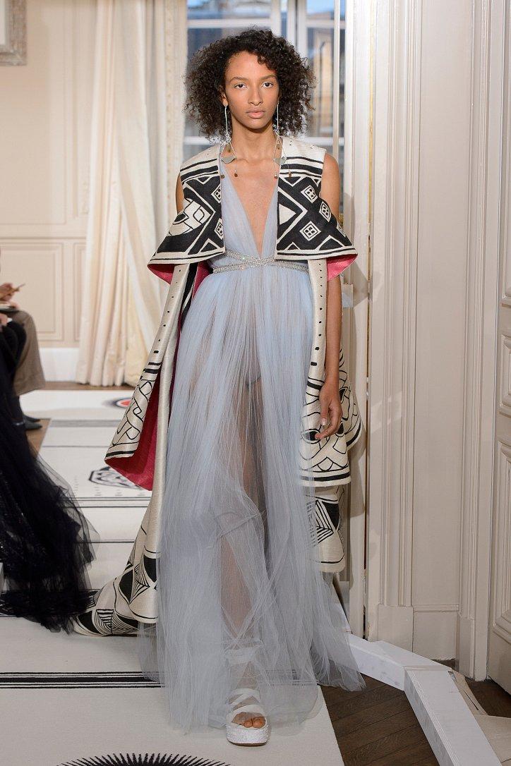 Коллекция Schiaparelli Haute Couture весна-лето 2018 фото №38