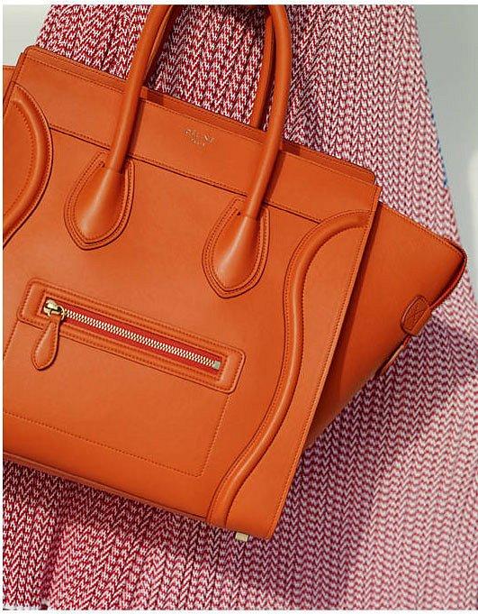 Коллекция сумок Celine весна 2015 фото №11