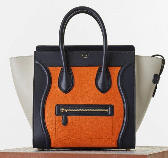 Коллекция сумок Celine весна 2015 фото №13