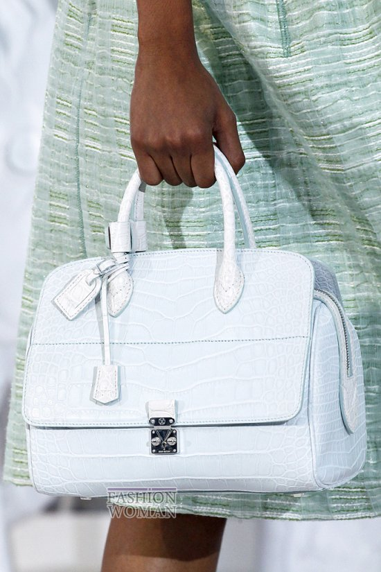 Белая Сумочка Louis Vuitton - klubokcom