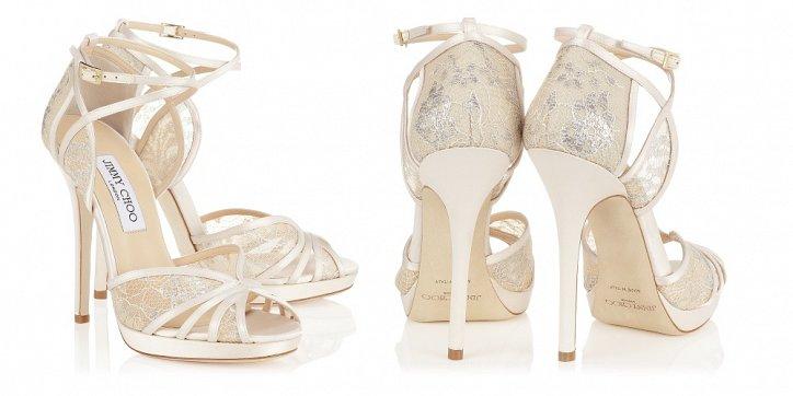 Свадебная обувь Jimmy Choo