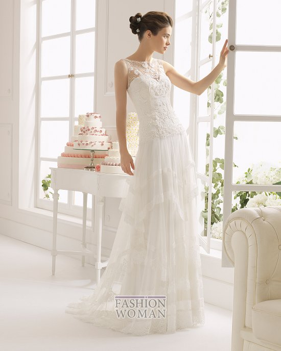 Коллекция свадебных платьев Aire Barcelona 2015 фото №18