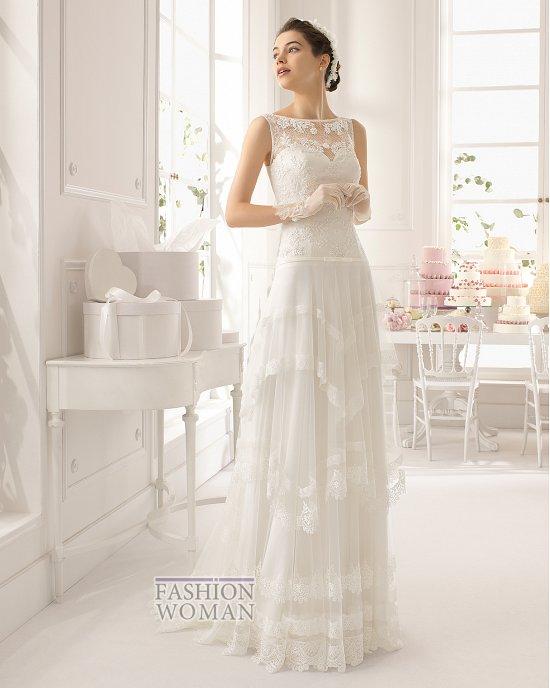 Коллекция свадебных платьев Aire Barcelona 2015 фото №19