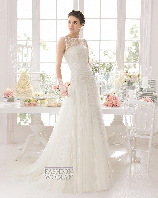 Коллекция свадебных платьев Aire Barcelona 2015 фото №21