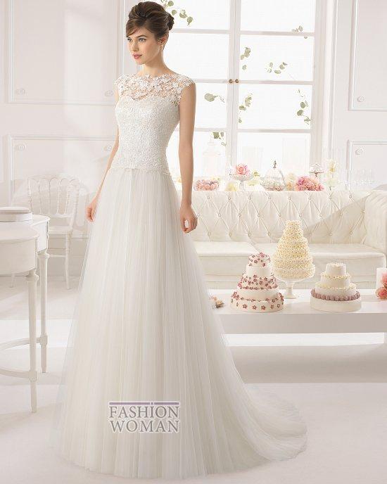 Коллекция свадебных платьев Aire Barcelona 2015 фото №22