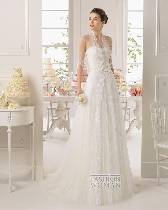 Коллекция свадебных платьев Aire Barcelona 2015 фото №26