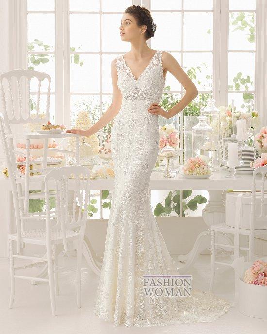 Коллекция свадебных платьев Aire Barcelona 2015 фото №27