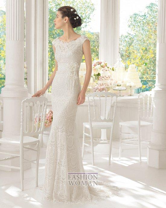 Коллекция свадебных платьев Aire Barcelona 2015 фото №28