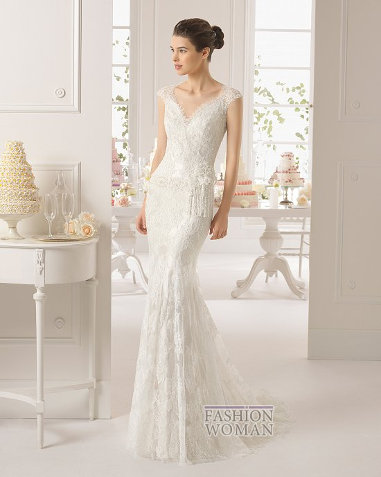 Коллекция свадебных платьев Aire Barcelona 2015 фото №31