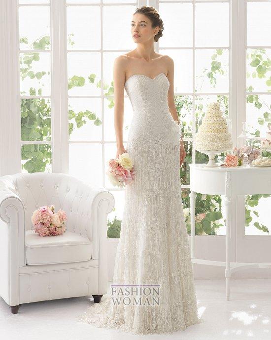 Коллекция свадебных платьев Aire Barcelona 2015 фото №32