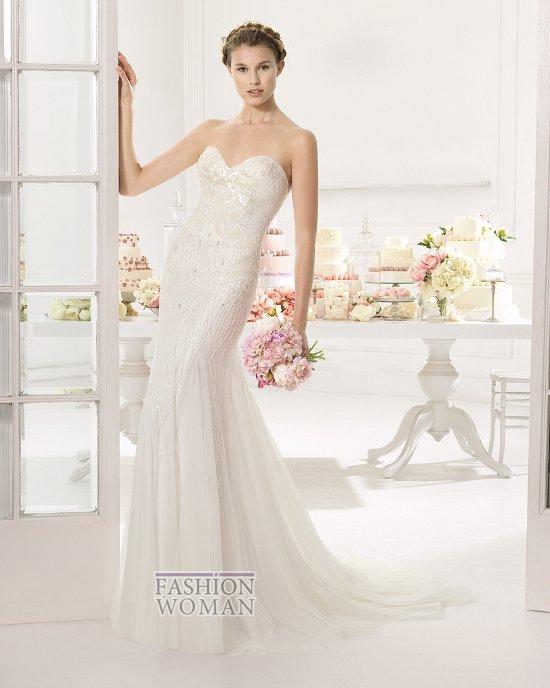 Коллекция свадебных платьев Aire Barcelona 2015 фото №36