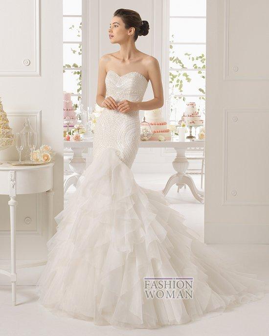 Коллекция свадебных платьев Aire Barcelona 2015 фото №42