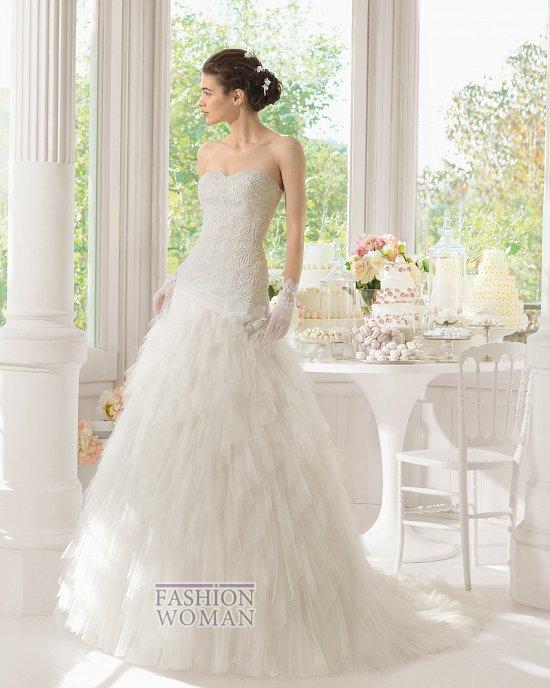 Коллекция свадебных платьев Aire Barcelona 2015 фото №45