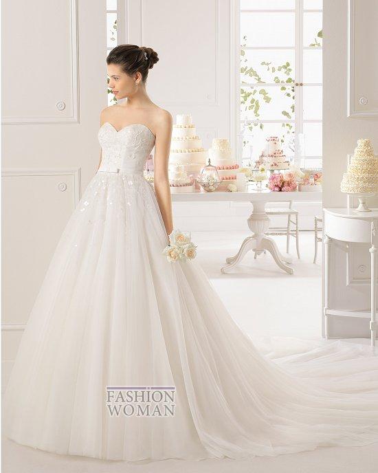 Коллекция свадебных платьев Aire Barcelona 2015 фото №48
