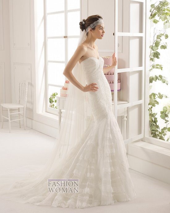Коллекция свадебных платьев Aire Barcelona 2015 фото №51
