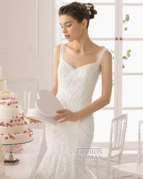 Коллекция свадебных платьев Aire Barcelona 2015 фото №52