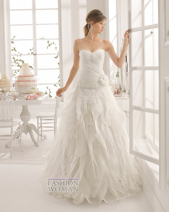 Коллекция свадебных платьев Aire Barcelona 2015 фото №66