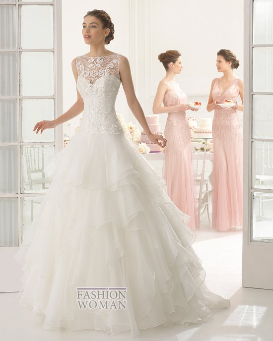 Коллекция свадебных платьев Aire Barcelona 2015 фото №71