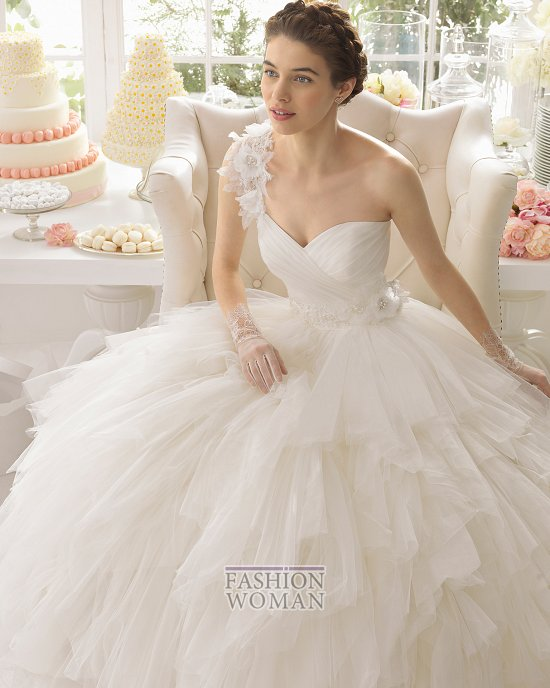 Коллекция свадебных платьев Aire Barcelona 2015 фото №77