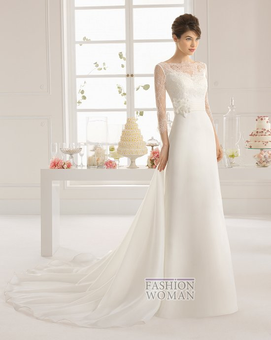 Коллекция свадебных платьев Aire Barcelona 2015 фото №82