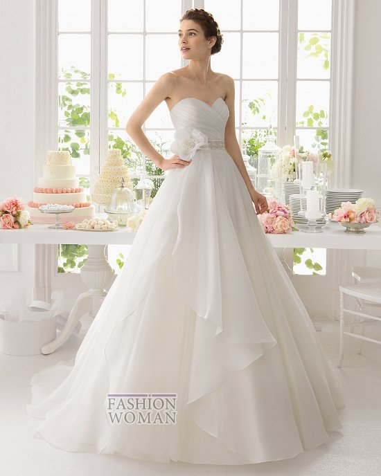 Коллекция свадебных платьев Aire Barcelona 2015 фото №105