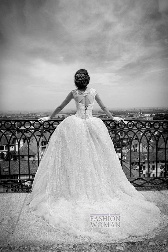 Коллекция свадебных платьев Alessandra Rinaudo 2015 фото №8