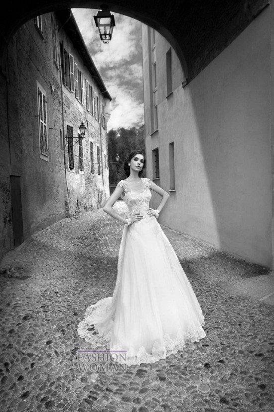 Коллекция свадебных платьев Alessandra Rinaudo 2015 фото №9