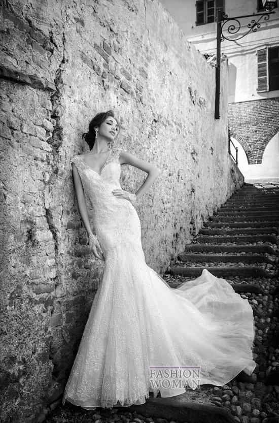 Коллекция свадебных платьев Alessandra Rinaudo 2015 фото №13