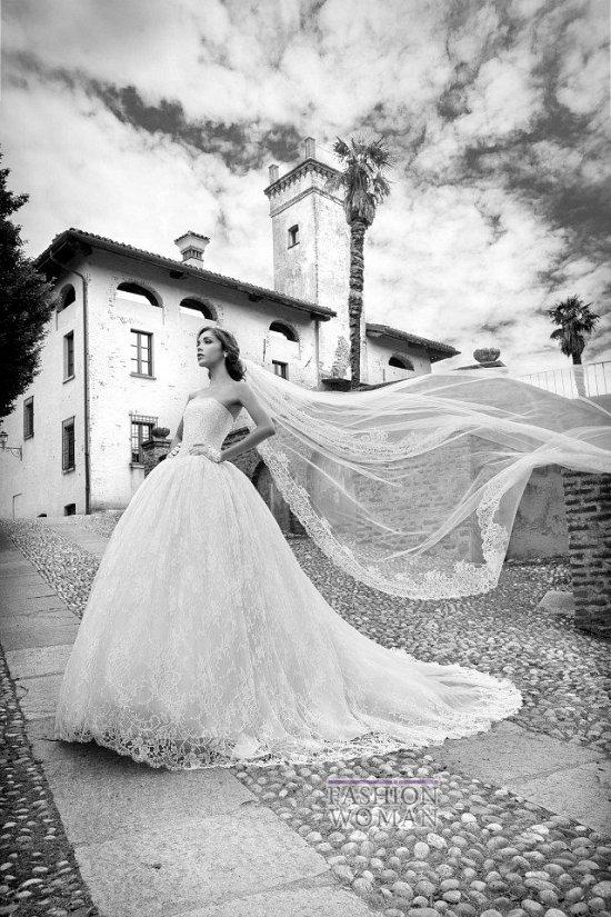 Коллекция свадебных платьев Alessandra Rinaudo 2015 фото №14