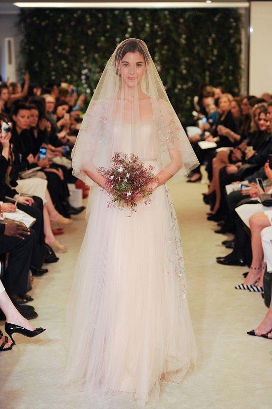 свадебные платья Carolina Herrera весна 2016