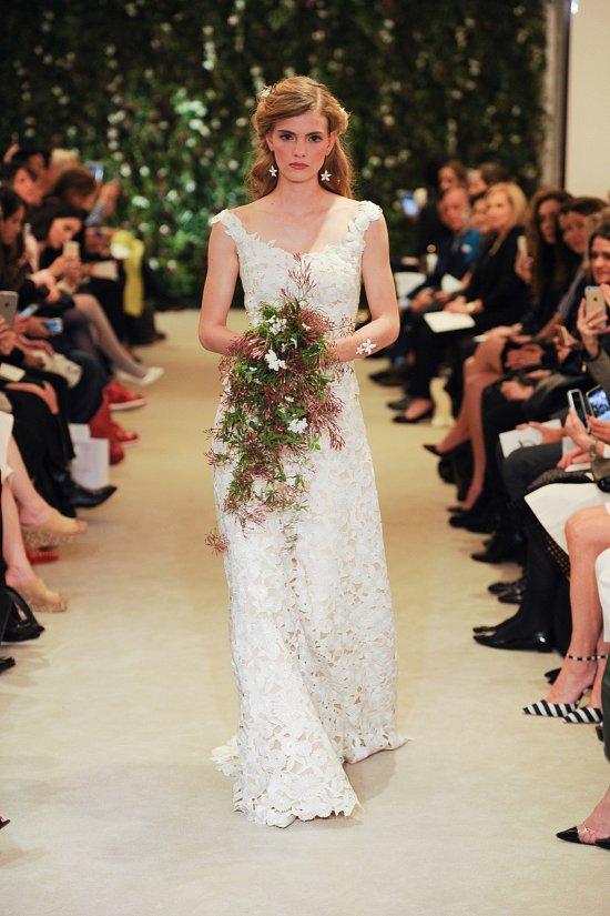 Коллекция свадебных платьев Carolina Herrera весна 2016 фото №2