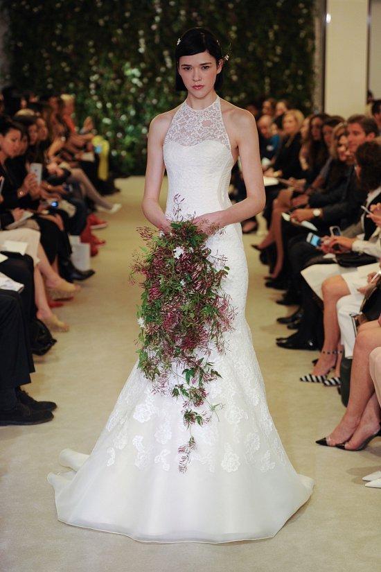 Коллекция свадебных платьев Carolina Herrera весна 2016 фото №5