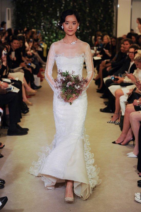 Коллекция свадебных платьев Carolina Herrera весна 2016 фото №6