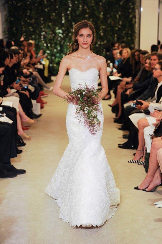 Коллекция свадебных платьев Carolina Herrera весна 2016 фото №7
