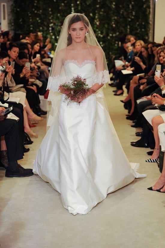 Коллекция свадебных платьев Carolina Herrera весна 2016 фото №8