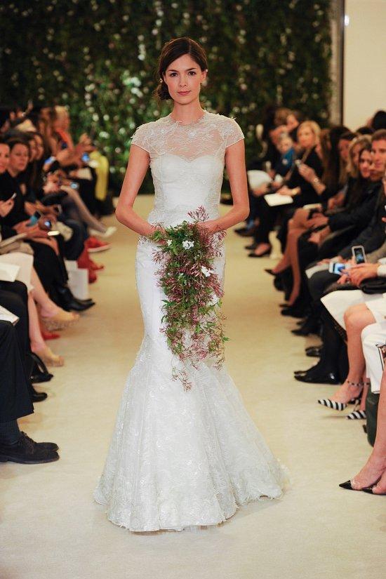 Коллекция свадебных платьев Carolina Herrera весна 2016 фото №10