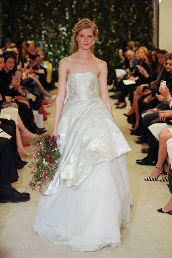 Коллекция свадебных платьев Carolina Herrera весна 2016 фото №11