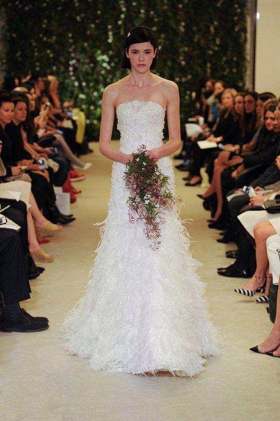 Коллекция свадебных платьев Carolina Herrera весна 2016 фото №12
