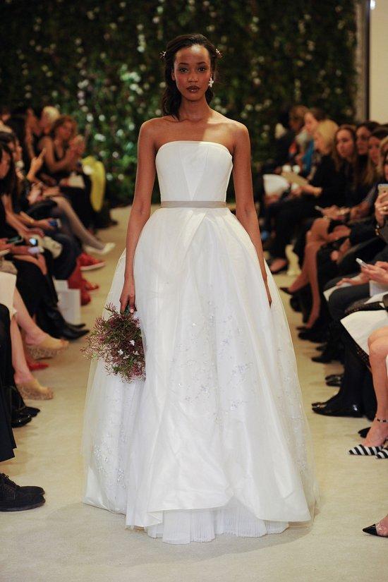 Коллекция свадебных платьев Carolina Herrera весна 2016 фото №13